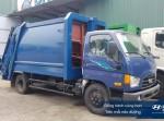 Xe cuốn ép chở rác Hyundai 110S / 110SP