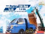 Hyundai Porter 150 ben tự đổ