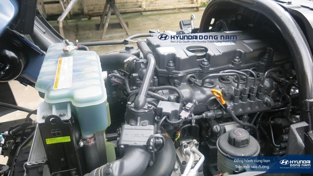 Động cơ D4GA trên xe Hyundai 110SL 7 tấn công suất 150 mã lực