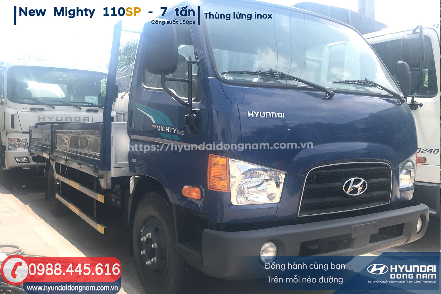 New Mighty 110SP / 110S Thùng Lửng