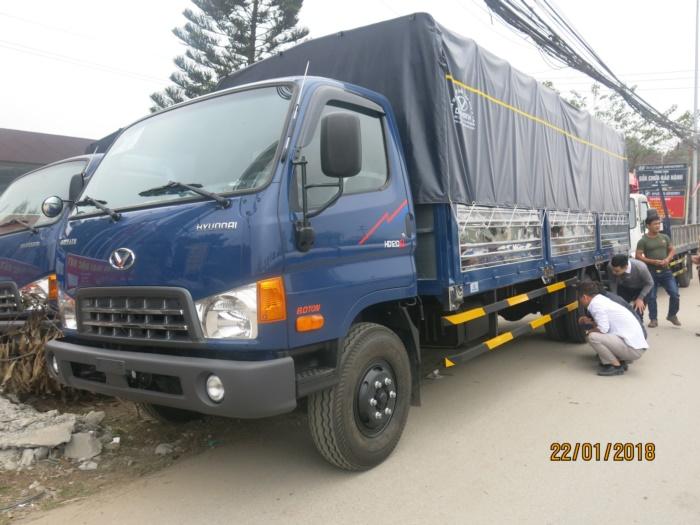 Hyundai HD120SL Thùng Bạt