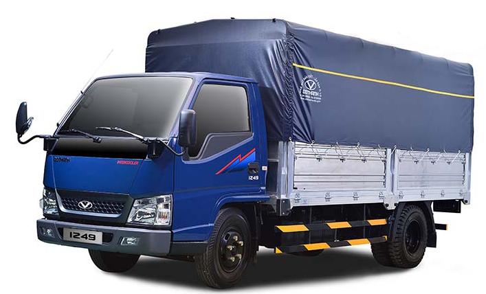 Xe tải IZ49 Thùng mui bạt Euro4