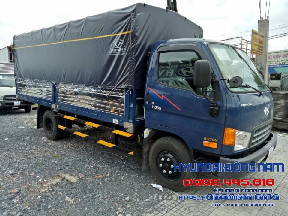 Hyundai HD99 Thùng Mui Bạt