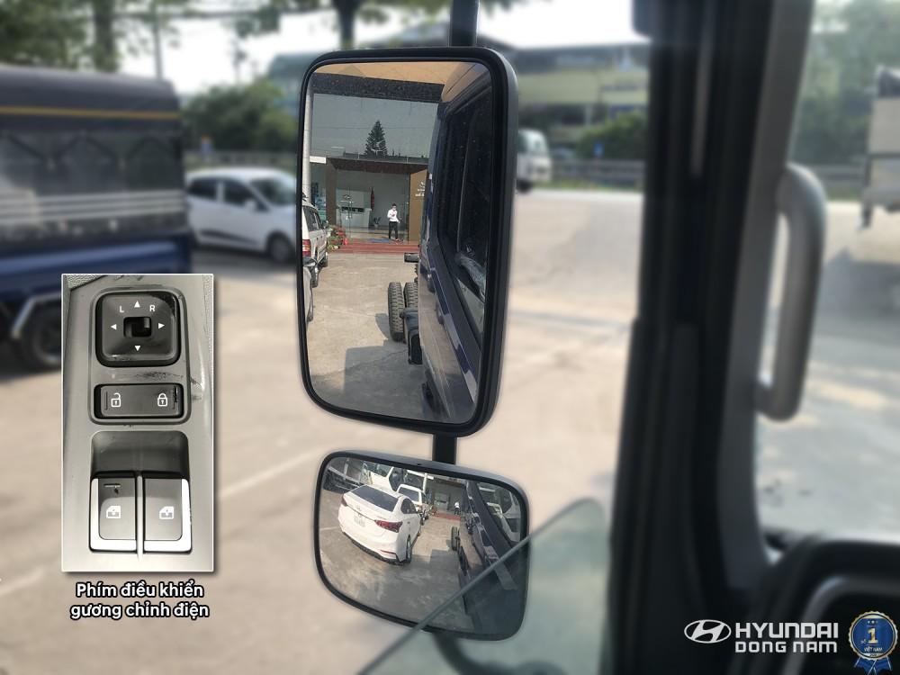 Gương chỉnh điện trên xe Mighty EX